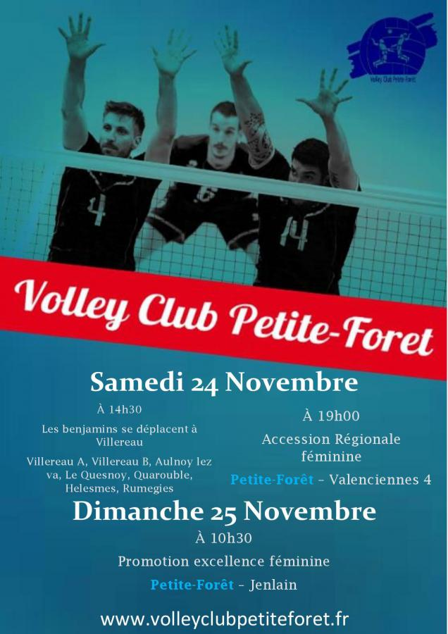 Week-end du 24/25 nov