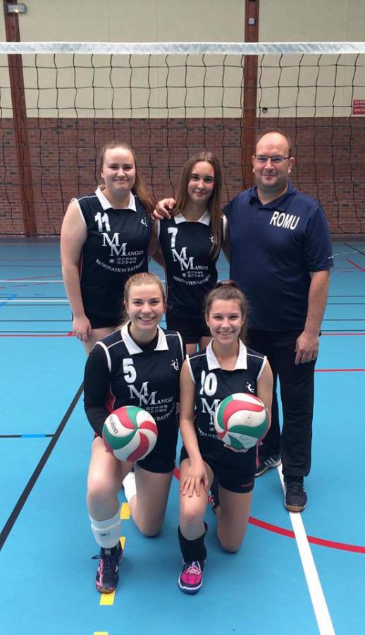 Cadette A - Volley club Petite-Forêt