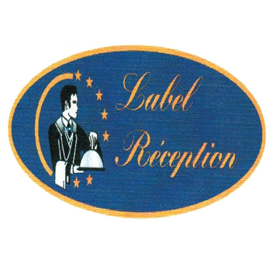 Label réception